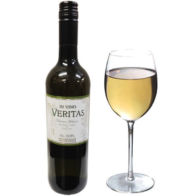 750 ml of IN VINO VERITAS VINCERO BLANCO インビノ ヴェリタスビンセロ swing non-alcohol wine (white)