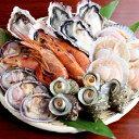 海鮮 バーベキュー セット 家キャン 赤海老 殻付き 牡蠣 帆立 大アサリ サザエ 貝類 2〜3人前
