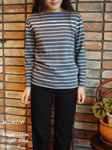 SAINT JAMES (セントジェームス) バスク 胸ラインボーダー