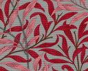 moda fabrics(モダ・ファブリックス)William Morris ウィリアムモリス オックス生地<Willow Bough>(ウィローボウ)<TOPE RED(トープレッド)>8113-40T