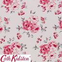 Cath Kidston キャスキッドソン 生地 コットンファブリック<Brampton Bunch Raspberry>(ブランプトンバンチ ラズベリー)BRAMPTON-BUNCH