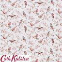 Cath Kidston キャスキッドソン 生地 コットンファブリック<British Birds Pastel>(ブリティッシュバーズ パステル)鳥 BRITISH-BIRDS