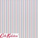 Cath Kidston キャスキッドソン 生地 コットンファブリック<Mid Stripe Chalk>(ミッドストライプ チョーク)MID-STRIPE-CHALK