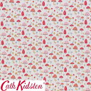 Cath Kidston キャスキッドソン 生地 コットンファブリック<Mini Mushroom Multi>(ミニマッシュルーム マルチ)きのこ MINI-MUSHROOM