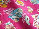 HuGっと!プリキュア ローズ オックス生地ファブリック(キャラクター 入園入学通園通学)はぐっとプリキュアA9100-20A キャラクター生地 生地 入園