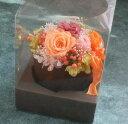 【花材】資材・ギフトケース クリアボックス台紙付き1袋10枚入り Sサイズ