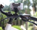 送料無料 自転車用 スマホホルダー スマートフォンホルダー バイク サイクリング ホルダー スタンド iPhone/galaxyスマートフォン ハンドルマウント 360° 回転 クリップ式