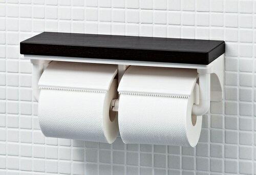 【最安値挑戦中!最大24倍】INAX CF-AA64KUT 紙巻器 棚付2連紙巻器 高耐荷重タイプ [□]