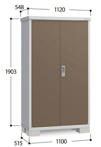 【全商品 ポイント最大 17倍】イナバ物置 アイビーストッカー BJX-115E ドア型収納庫 全面棚タイプ [♪▲]