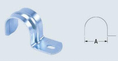 【最安値挑戦中!最大17倍】水栓金具 カクダイ 6252-28 片サドルバンド/34×5.5/10 [□]