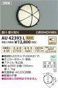 【全商品 ポイント最大 16倍】コイズミ照明 AU42393L ポーチライト 天井直付・壁 ブラケットライト 白熱球40W相当 LED付 電球色 防雨型 [(^^)]