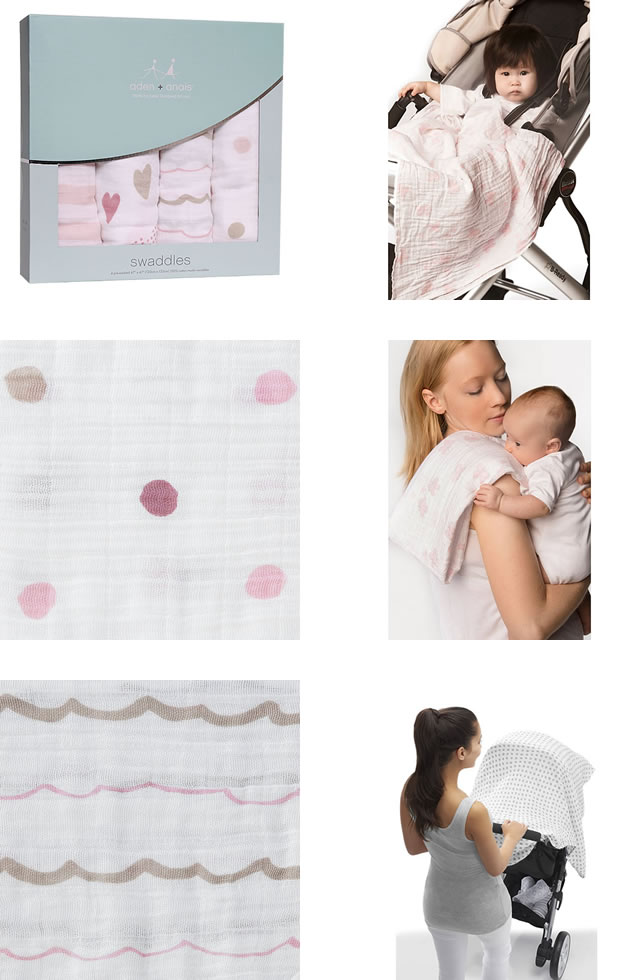 aiden and anais swaddle instructions