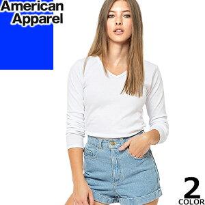 アメリカン アパレル Tシャツ レディース