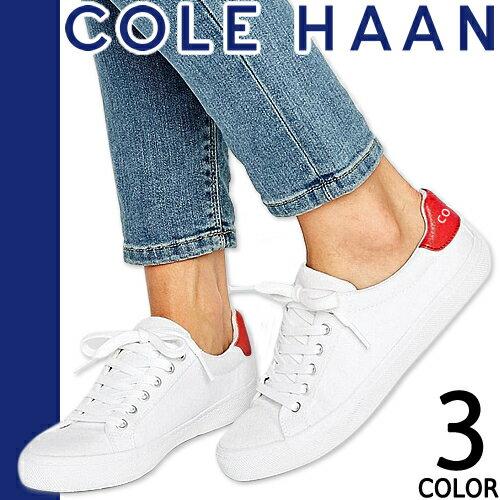 コールハーン COLE HAAN Cameron スニーカー レディース 白 ホワイト レッド ネイビー ファッション ママ おしゃれ