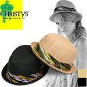 クリスティーズ ハット ストローハット マンハッタン CHRISTYS' HAT MANHATTAN 中折れハット 麦わら帽子 カンカン帽 ニューヨークハット NEW YORK HAT好きにも