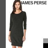 [最終SALE22,680円→12,780円] ジェームスパース ワンピース JAMES PERSE スウェット 霜降り レディース スリードッツ three dots好きにも [S]