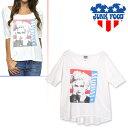 ジャンクフード JUNK FOOD tシャツ レディース マドンナ Madonna Vintage Free Spirit Tee [メール便発送]
