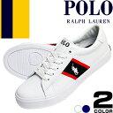 ポロ ラルフローレン Polo Ralph Lauren スニーカー レディース 白 紺 ファッション ママ おしゃれ ZUMA