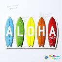 ハワイ ステッカー ALOHAサーフボードLocal Motion【ハワイアン雑貨】【ハワイ雑貨】【DM便・ネコポス対応可】