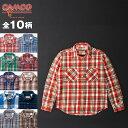 ベストセラー 送料無料 CAMCO【カムコ】 カムコ ネルシャツ ネルシャツ フランネルシャツ ワークシャツ 長袖シャツ メンズ XS-LL(XL) 【smtb-m】