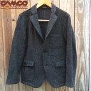 送料無料 CAMCO【カムコ】ツイード 3B ウール テーラード ジャケット メンズ(男性用) 【smtb-m】