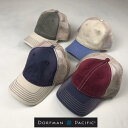2個購入で送料無料 DORFMAN PACIFIC COMPANY 【ドーフマンパシフィックカンパニー】 BC246 2トーン メッシュキャップ 帽子 メンズ(男性用)