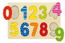 ★送料無料★木製パズル「0123すうじあわせ」