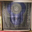 ペルシャ絨毯 / シルク クム マスミ工房 QUM 絨毯 ペルシャ ラグ カーペット ペルシャ結び 手織り 織り子