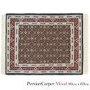 ペルシャ絨毯 ムード 89×69cm / ウール 手織り 手作業 織り子 イラン製 ラグ マット 絨毯 moud