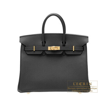 HermesBirkinbag25BlackEpsomleatherGoldhardware