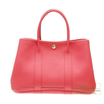 [2010NewCollection]HermesGardenPartybagPMBougainvillierNegondaleather