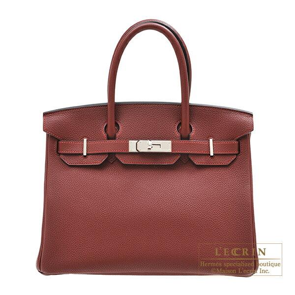エルメス バーキン30 ルージュアッシュ トゴ シルバー金具 HERMES Birkin bag 30 Rouge H Togo leather Silver hardware