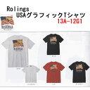 樂天商城 - Rolings USAグラフィックTシャツ13A12MG1ベースボールシャツ野球