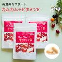 カムカム サプリメント 3袋セット 天然ビタミンC+ビタミン...