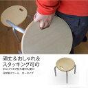 ルネセイコウ 頑丈パイプ椅子 ハンドルスツール ロータイプ 幅32×奥行32×高さ30cm パ