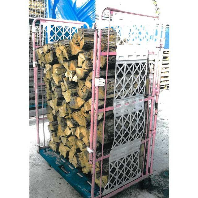 「エントリーでポイント10倍!12月1日9:59まで!」ナラ乾燥薪36cm大中割60束(北陸A)(450kg)|日祝配達不可|代引不可|能登産|薪ストーブ、暖炉用|燃料|蒔|まき|たきぎ