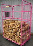 ナラ乾燥薪36cm大中割43束(300kg)