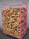 ナラ乾燥薪36cm大中割75束(525kg)