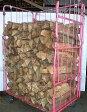ナラ乾燥薪45cm特大割50束(550kg)【ご予約可能】太い薪のみを麻紐で結束|火持ち抜群です|規定乾燥期間10カ月以上|日祝配達不可|午前午後「希望」のみとなります