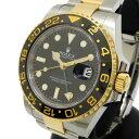 【ROLEX/ロレックス】 GMTマスター 116713LN 腕時計 K18ゴールド/ステンレススチール/セラミック 自動巻き/オートマ Gシリアル 2012年..