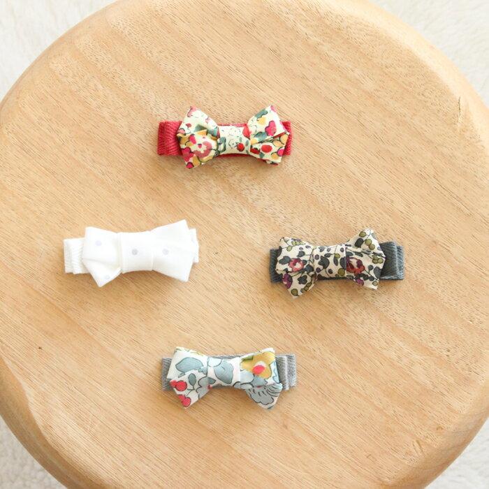 ObiObi(オビオビ)リバティ 花柄 水玉リボ...の商品画像
