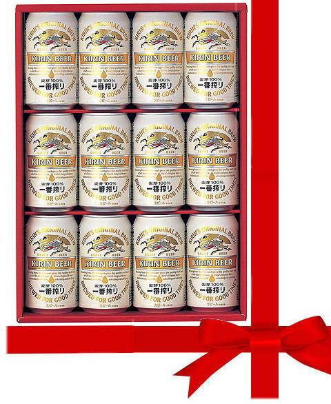 キリン 一番搾り 缶ビール ギフトセット オリジ...の商品画像