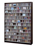 【】 CDラック DVDラック CD1668枚・DVD720枚 CDストッカー CS1668 【日本製】 【HLSDU】