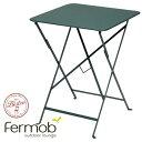 フェルモブ ビストロ ビストロテーブル57×57 Fermob Bistro フランス ガーデンファニチャー ガーデン家具 ガーデンテーブル ベランダテーブル テラステーブル カフェテーブル