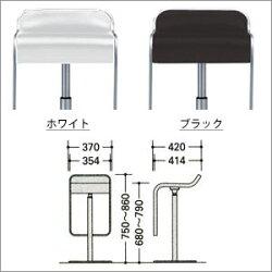 カウンターチェア(ハイタイプ・本革張り)LEM(レム)H605-1
