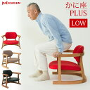 【ポイント10倍】【あす楽】 かに座PLUS ロータイプ KP-100 無限工房 送料無料 完成品 座椅子 座イス 座いす チェア 蟹座 肘掛け