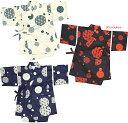 子供 甚平 格子窓柄 甚平スーツ 日本製 こども じんべい 子ども 80cm〜110cm 05P06Aug16