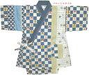 子供 甚平 ベビー じんべい (日本の風物)寺社柄・ツムギクロス 甚平スーツ(日本製)90~110cm 男の子 こども 子供甚平スーツ05P06Aug16