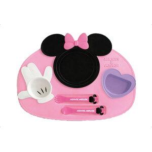 【キッズプレートランチプレート食器皿】アイコンランチプレート[日本製]ミッキーマウス・ミニーマウス【ベビー食器】【D】【P】【RCP】