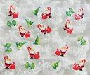 クリスマス特集【メール便OK】ネイルシール418 グリッタークリスマスシール サンタクロース&雪の結晶